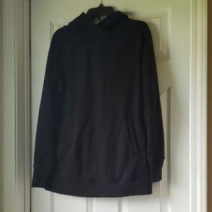 Tek Gear Black Oversized Sweatshirt Hoodie Sz S